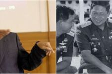 Potret lawas SBY ketika masih jadi Presiden, dibonceng RX King
