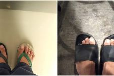 7 Curhatan lucu orang ketika sandalnya tertukar, kasihan tapi kocak