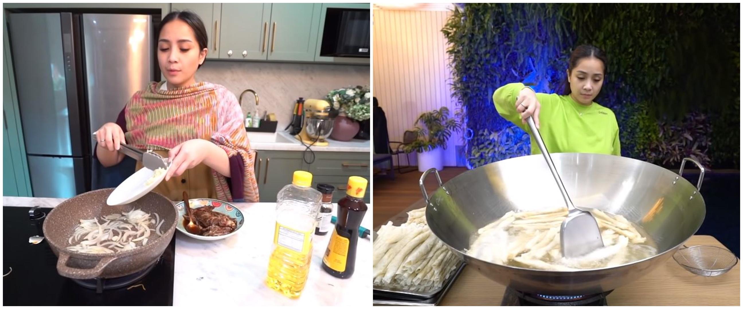 12 Momen Nagita Slavina masak untuk sahur dan buka puasa, bikin ngiler