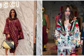 Beda gaya 10 seleb saat hadiri acara Gucci, Nagita tampil berkelas