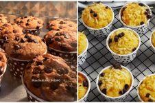 10 Resep kreasi kue muffin, mudah dibuat dan menggugah selera