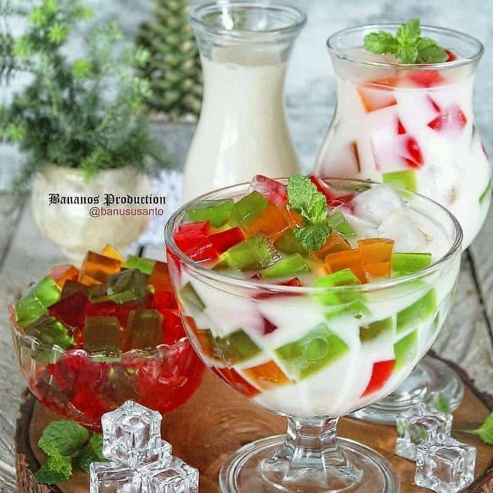 Resep minuman berbahan jelly Instagram© 2021 brilio.net