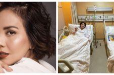 Sakit bersamaan, ini 6 momen Tya Ariestya dan anaknya dirawat di RS
