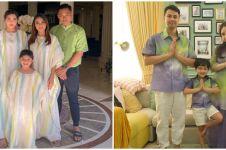 10 Inspirasi baju Lebaran keluarga seleb, kece abis