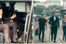 8 Potret Ammar Zoni jadi 'Mr Money' uang kaget, gayanya gagah banget
