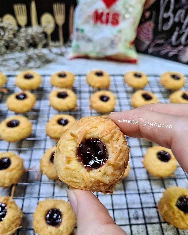 Resep kue kering selai mudah dibuat © berbagai sumber