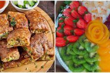 15 Makanan pengganti kue ulang tahun, puding hingga martabak