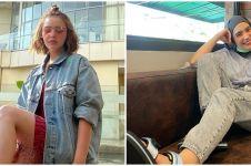 10 Beda gaya Amanda Manopo & Putri Anne di keseharian, stylish banget