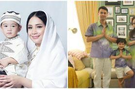 10 Potret seragam keluarga Raffi Ahmad saat Lebaran, jadi inspirasi