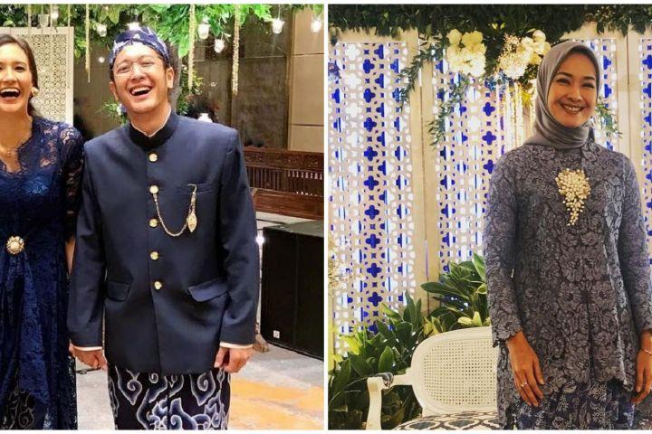Gaya 8 Puteri Indonesia saat kondangan, anggun banget