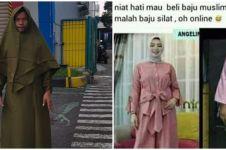 10 Momen lucu beli busana muslim di online shop, bikin ngakak