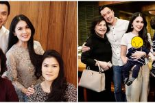 10 Potret kedekatan Sandra Dewi dan ibu mertua, penuh kehangatan