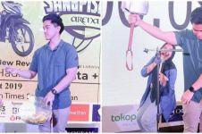 10 Gaya Nadya Arifta jadi MC di acara Kaesang, curi perhatian