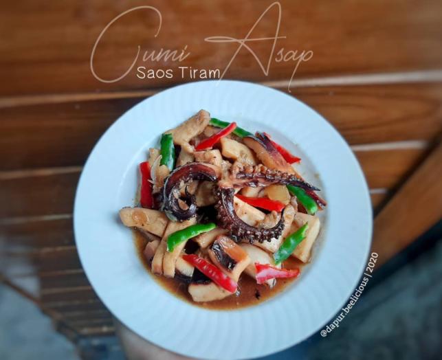 Resep seafood asap ala rumahan Instagram