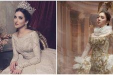 10 Pemotretan seleb cantik bertema putri kerajaan, tampil anggun