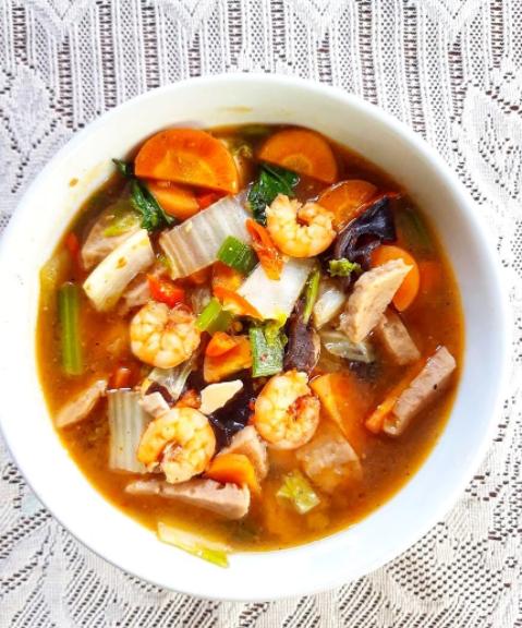 capcay basah ala Chinese food © 2021 brilio.net