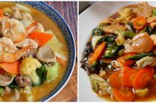 9 Resep capcay basah ala Chinese food, lezat dan mudah dibuat