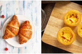 Sering dikira sama, ini 4 perbedaan croissant dan puff pastry