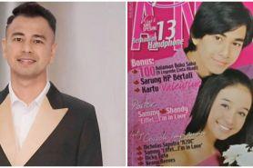 9 Potret lawas Raffi Ahmad jadi cover majalah, gaya rambutnya ikonik