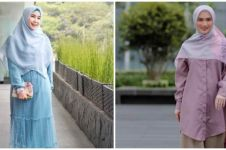 10 Beda gaya berhijab Anisa Rahma eks Cherrybelle dan Melody eks JKT48