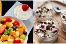 10 Resep olahan yoghurt dan buah segar, enak dan mudah dibuat
