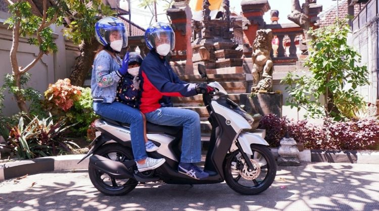 5 Tips berkendara sepeda motor saat silaturahmi mengunjungi keluarga