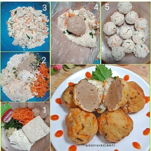 10 Resep kreasi bakso nikmat © berbagai sumber