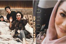 7 Momen Krisdayanti jenguk Aurel saat Lebaran, penuh kehangatan