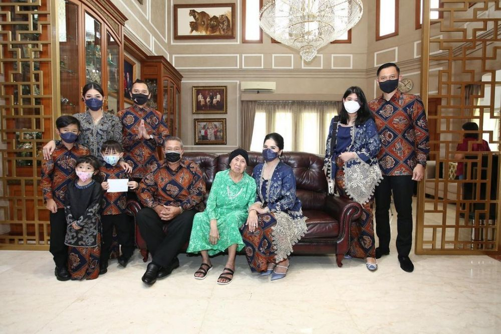 Momen keluarga SBY rayakan Lebaran Instagram © 2021 brilio.net