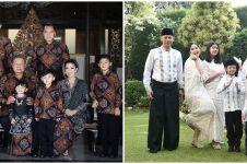 10 Momen keluarga SBY rayakan Lebaran, ziarah ke makam Ani Yudhoyono