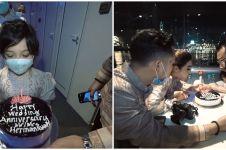 10 Momen ulang tahun pernikahan Anang dan Ashanty ke-9, romantis