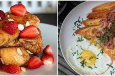 10 Resep french toast berbagai topping, cocok jadi menu sarapan