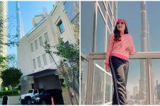 10 Potret apartemen Ashanty menginap di Dubai, menghadap Burj Khalifa