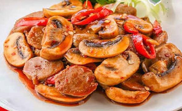 masakan jamur pedas © 2021 brilio.net