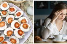 7 Manfaat mengonsumsi telur asin, cegah gejala anemia