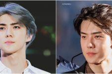 Potret 10 model rambut Sehun EXO, selalu menawan