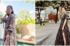 6 Pesona Bunga Zainal dengan kebaya Bali, dipuji kian menawan