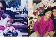 Potret masa kecil 10 pesinetron tampan dan ibu, bikin gemas