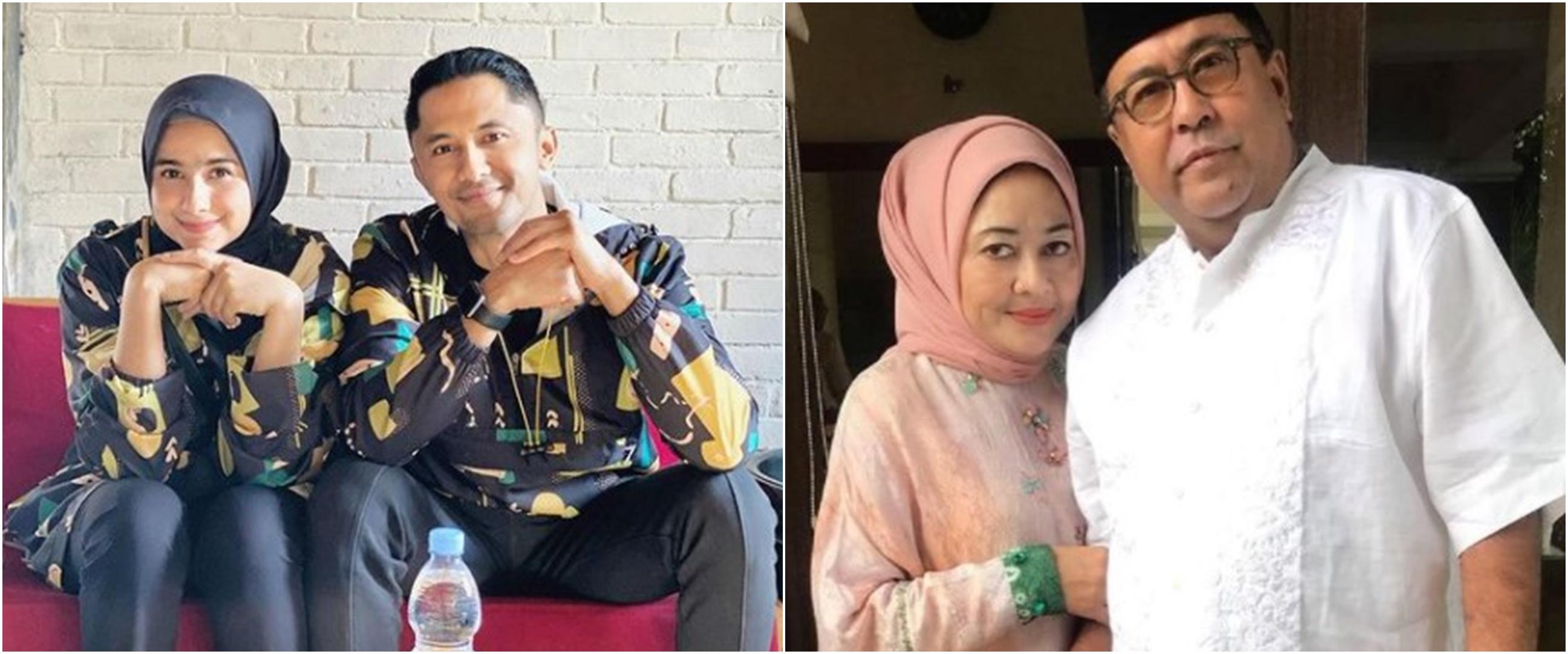 Potret tanpa makeup 6 istri politikus seleb, cantik natural