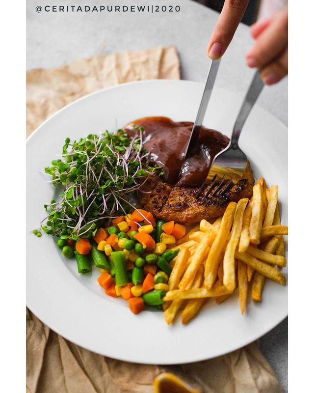 10 Resep kreasi steak tempe lezat © berbagai sumber