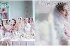 10 Momen bridal shower Citra Monica, wajah cemong diarak keliling mal