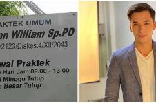 Viral papan nama dokter dengan nama Stefan William, ini faktanya