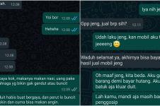 10 Chat lucu balasan saat dikatain teman, endingnya malu sendiri