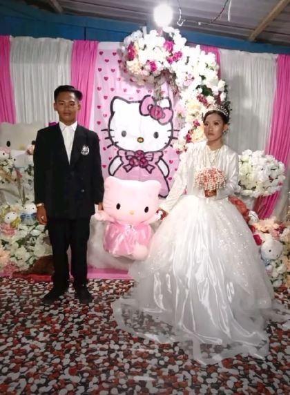 menikah Hello Kitty © Instagram