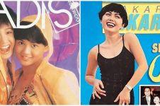 10 Pesona Yuni Shara jadi cover girl majalah lawas, cantiknya awet