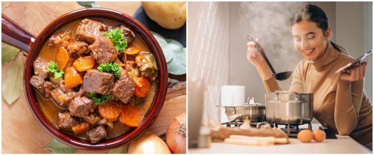 4 Cara menghilangkan lemak pada kuah sup daging
