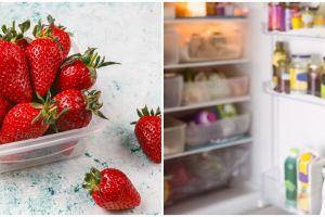 5 Cara menyimpan buah stroberi agar segarnya tahan lama