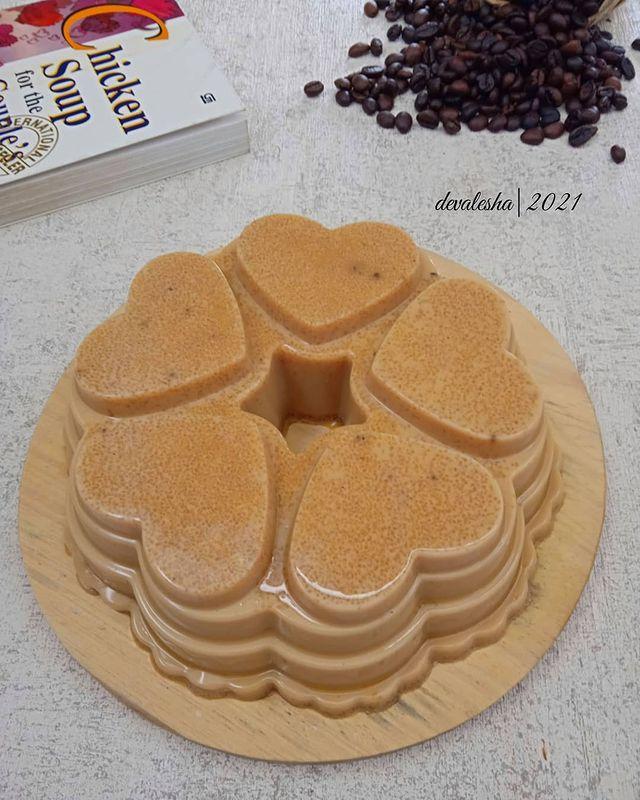 10 Resep puding kopi © berbagai sumber