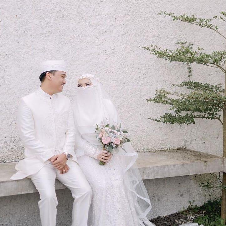 Momen pernikahan adik Taqy Malik © 2021 brilio.net