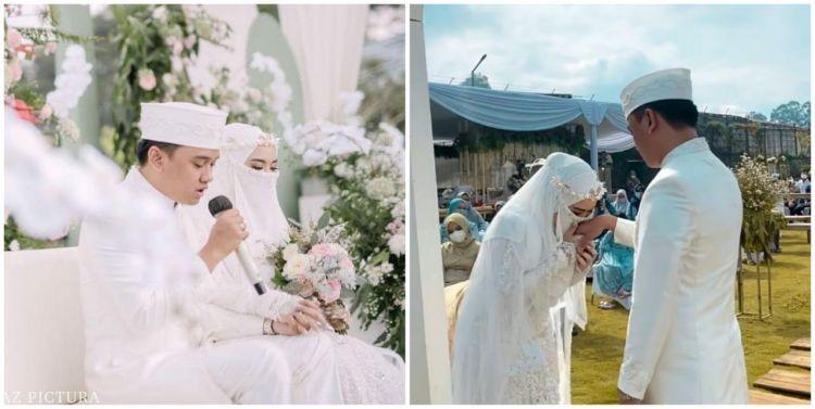 10 Momen pernikahan Wafiq Malik adik Taqy Malik, penuh khidmat